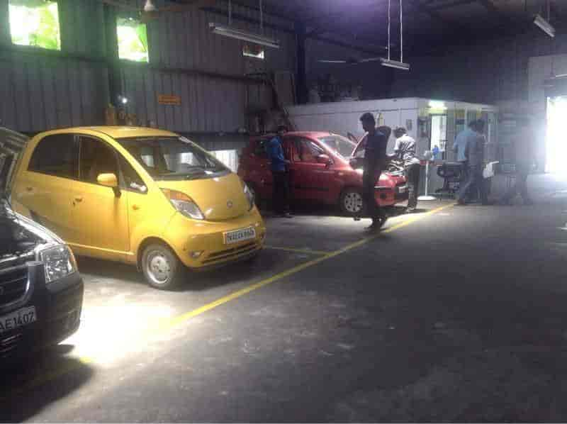 ... Inside View of Car Service Centre - Mytvs All Car Service-sairal Motors Photos, ...