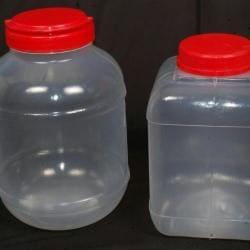 43da9645195 ... Plastic Bottle on display - Rrc Plastics Jars   Caps Photos