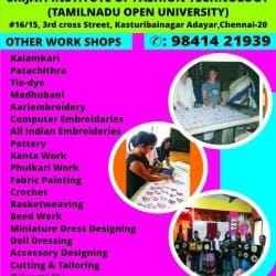 Srijati Institute Of Fashion Technology Adyar Tailoring Classes In Chennai Justdial