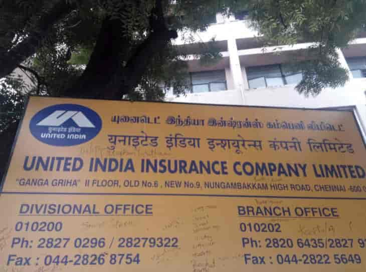 United India Insurance Company Ltd Nungambakkam Insurance Companies In Chennai Justdial