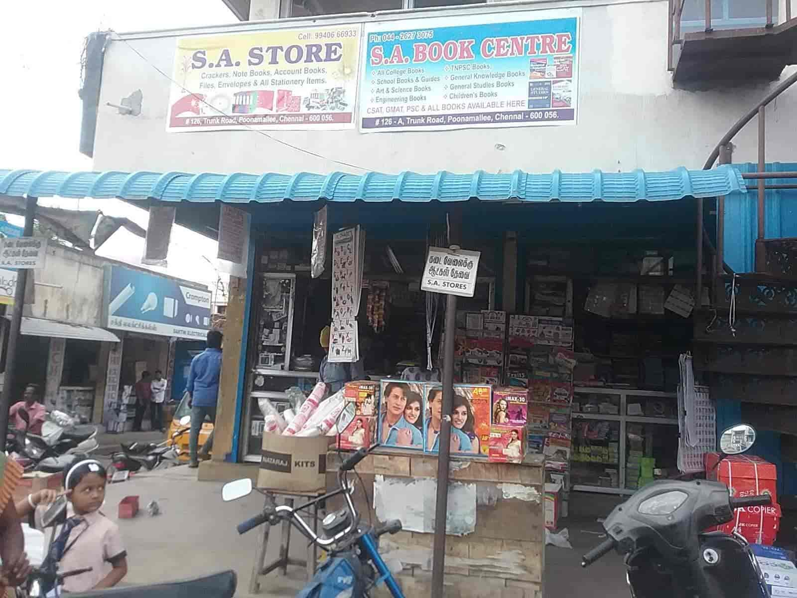 S A Stores, Poonamallee - Stationery Shops in Chennai - Justdial