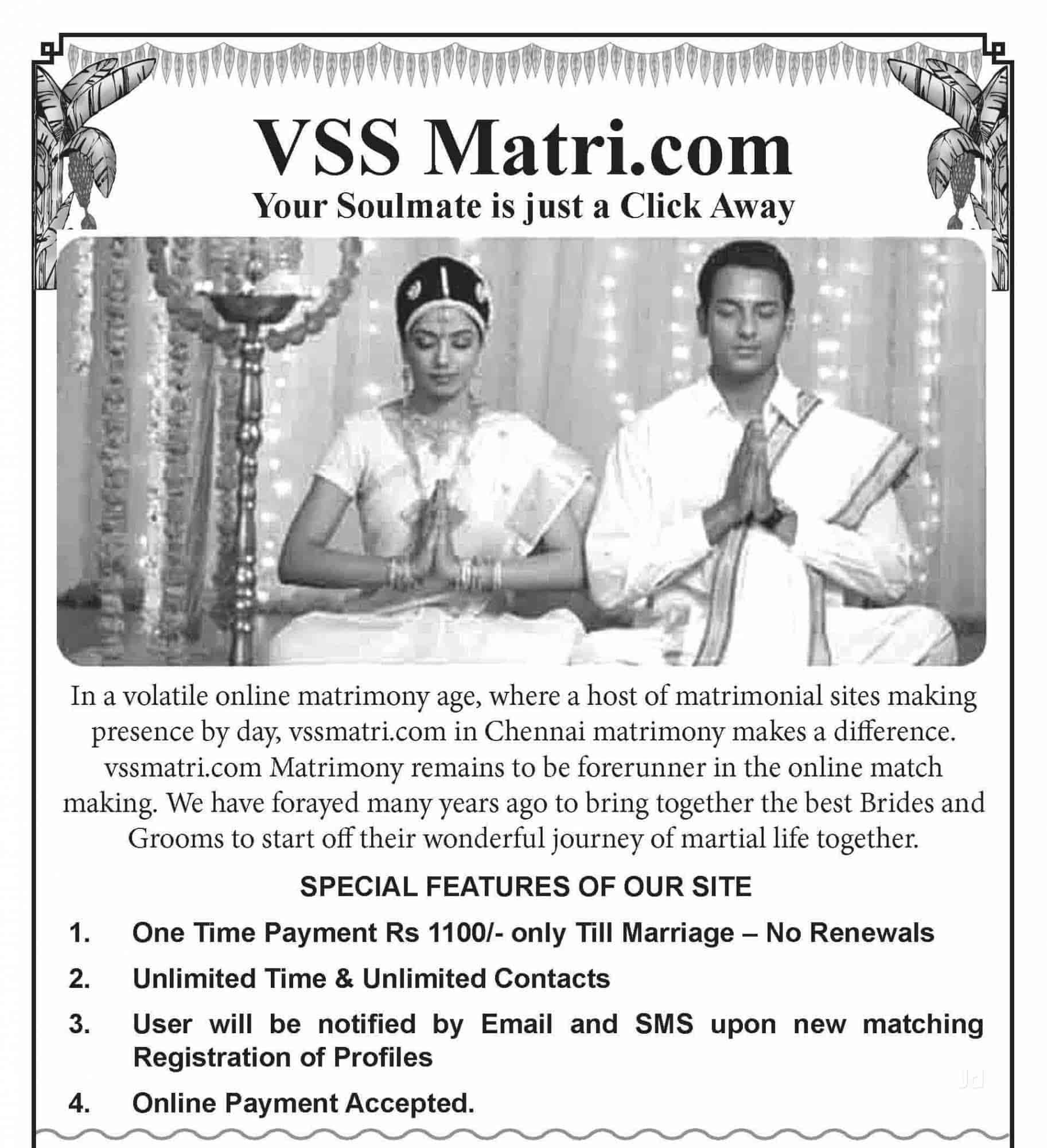 VSS Matrimonial Services, Alapakkam - Matrimonial Bureaus in