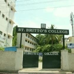 St Brittos College Adambakkam Colleges In Chennai Justdial