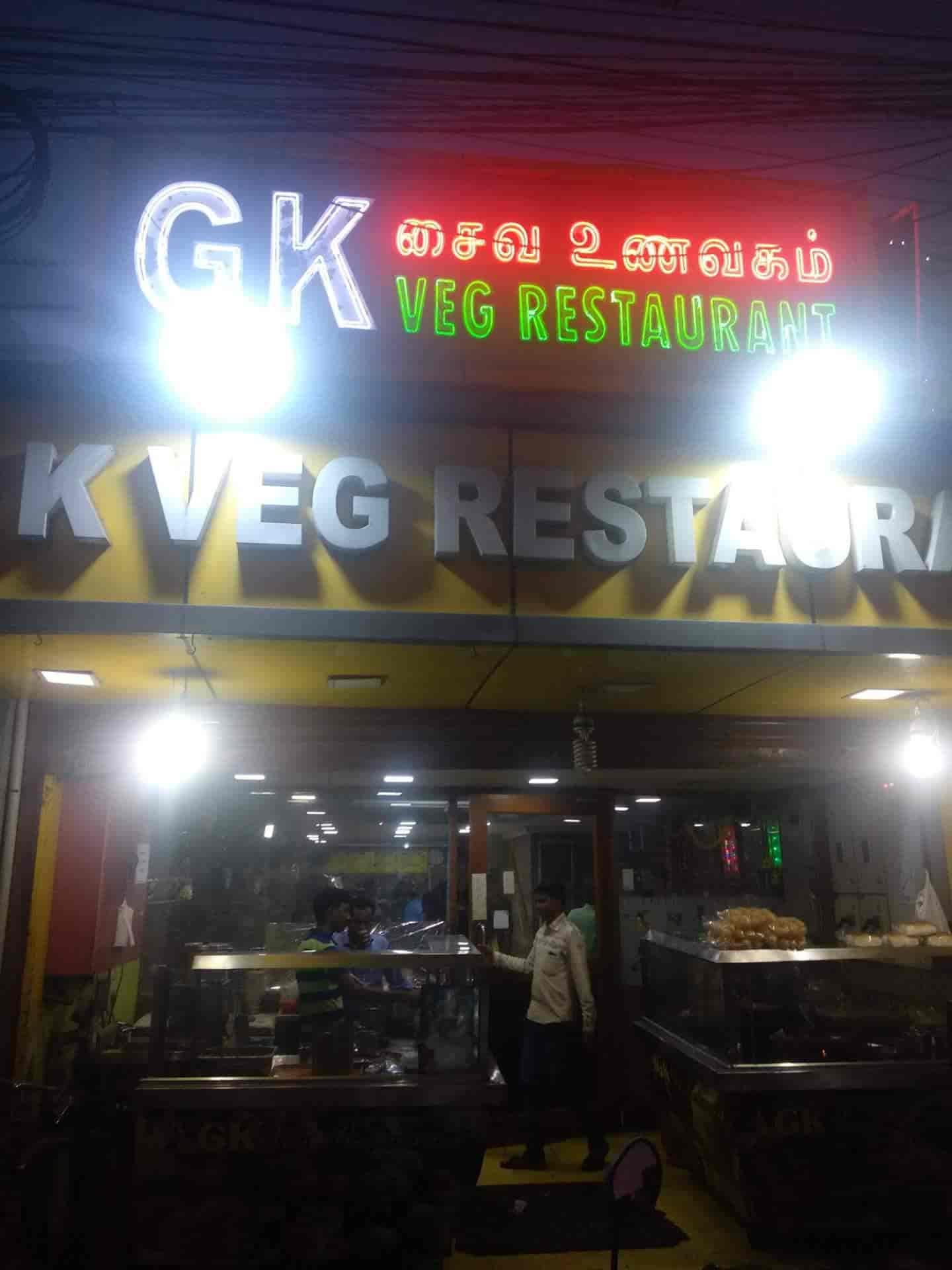 Gk Veg Restaurant Chithlapakkam Chromepet Chennai Chinese North Indian Breakfast South Indian Cuisine Restaurant Justdial