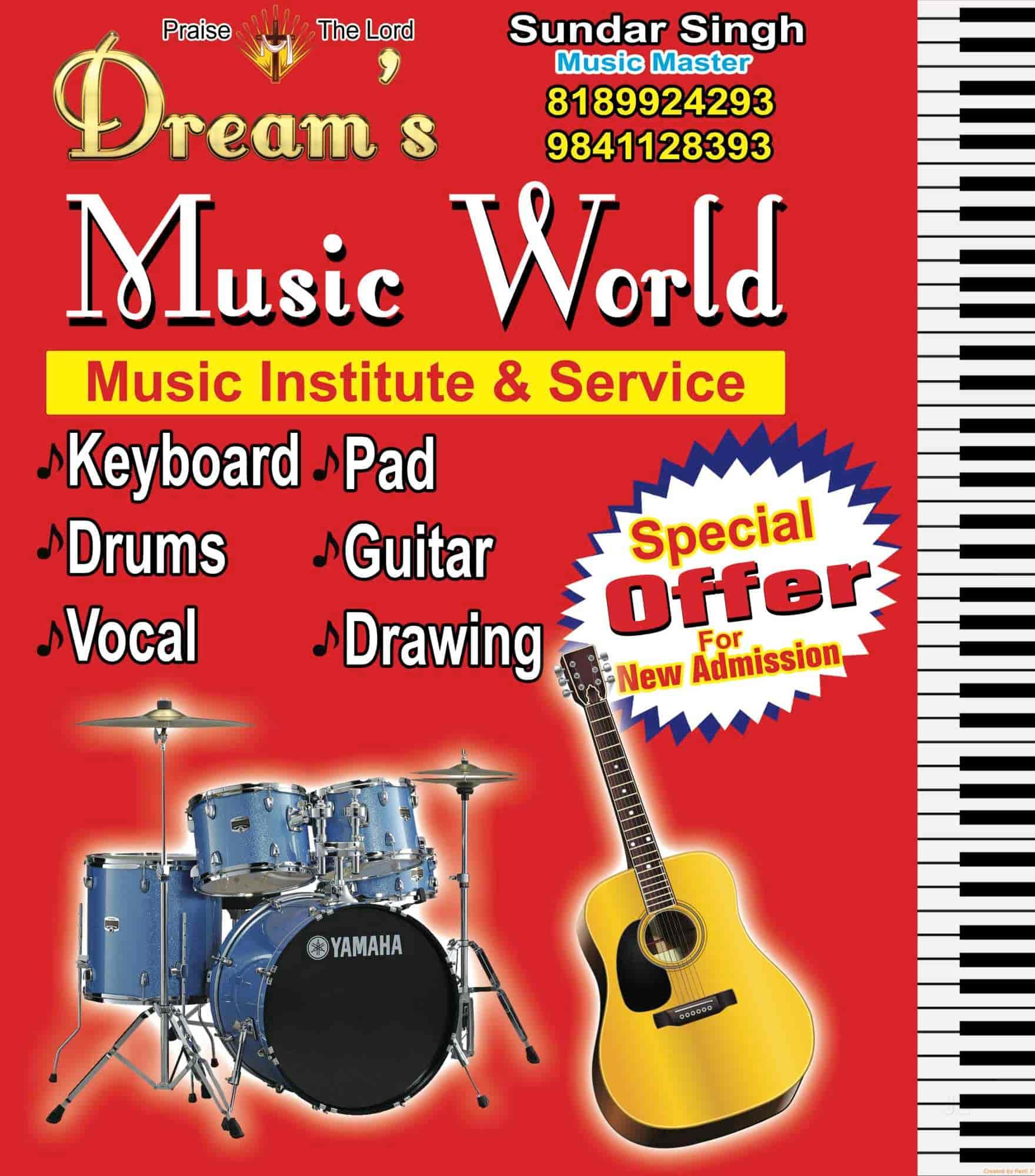 Dreams Music World - Music Institute & Service, Madhavaram