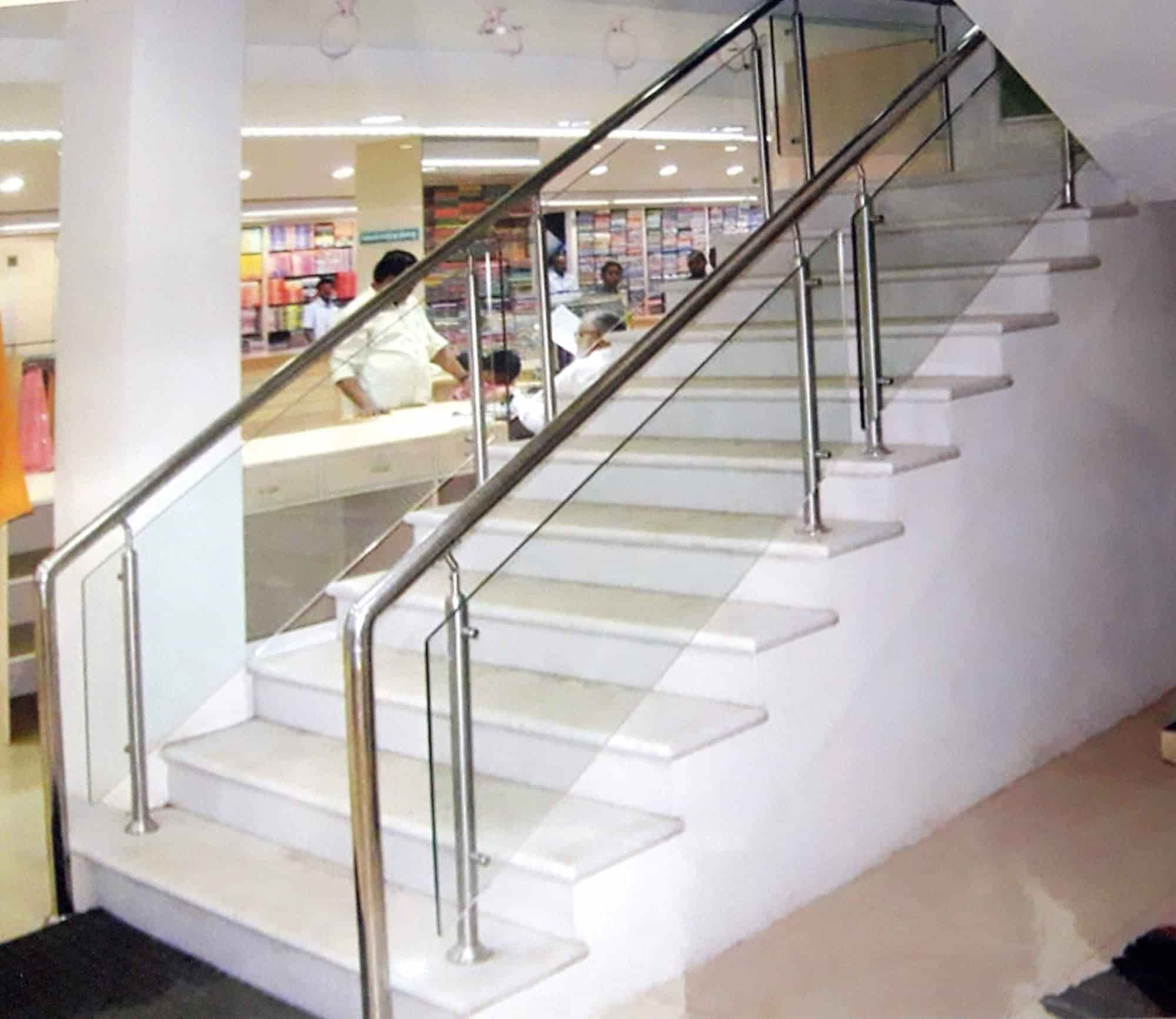 Triple S Steelrail, Thundalam  Staircase Handrail Dealers In Chennai