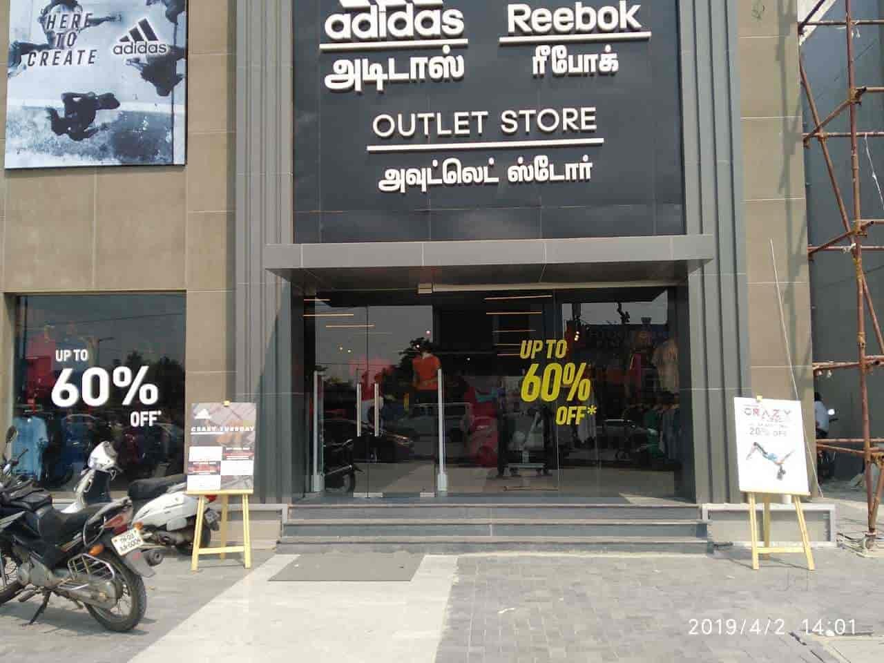 Adidas \u0026 Reebok Outlet, Okkiyam