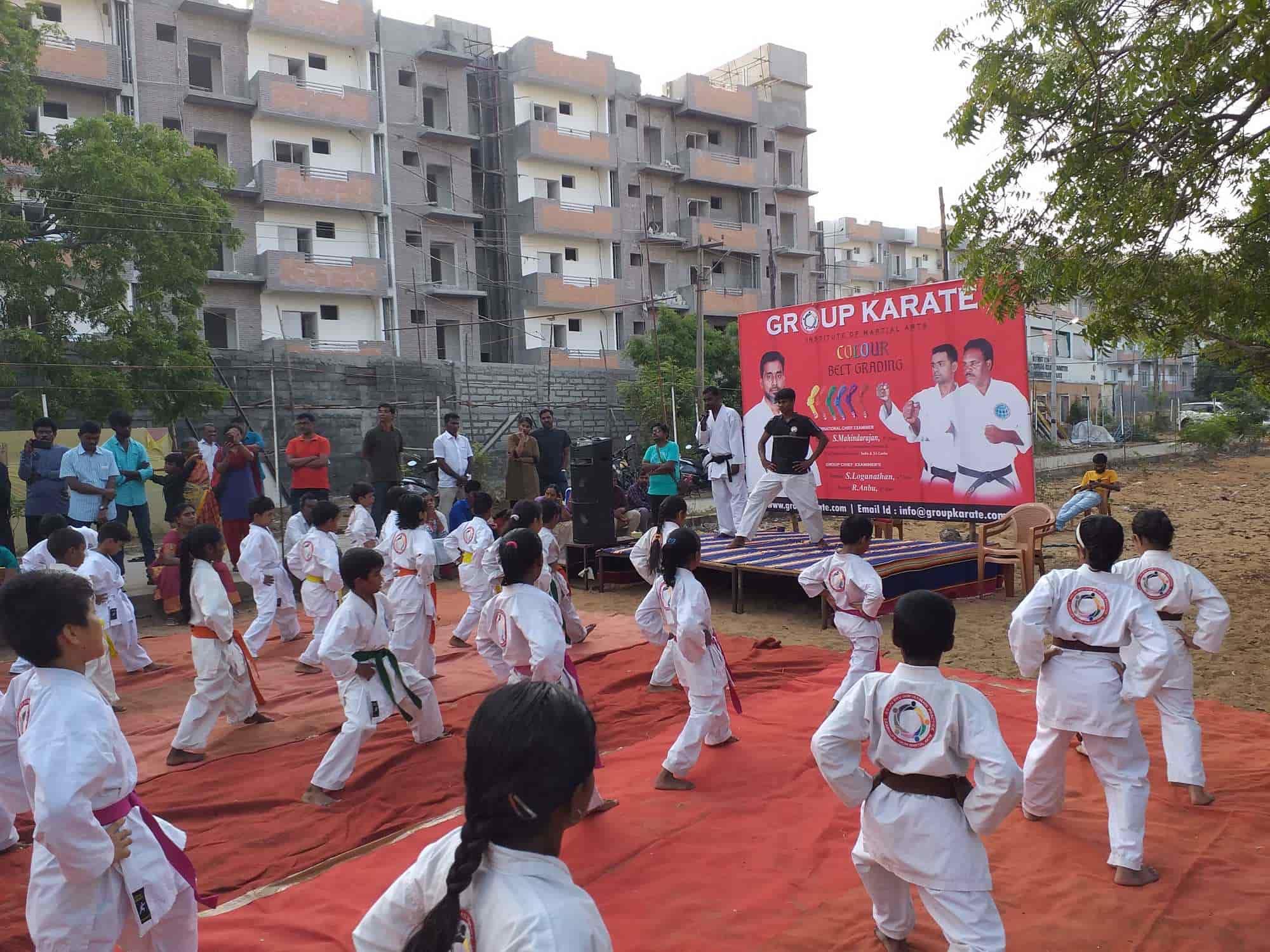 Group Karate, Valasaravakkam - Karate Classes in Chennai