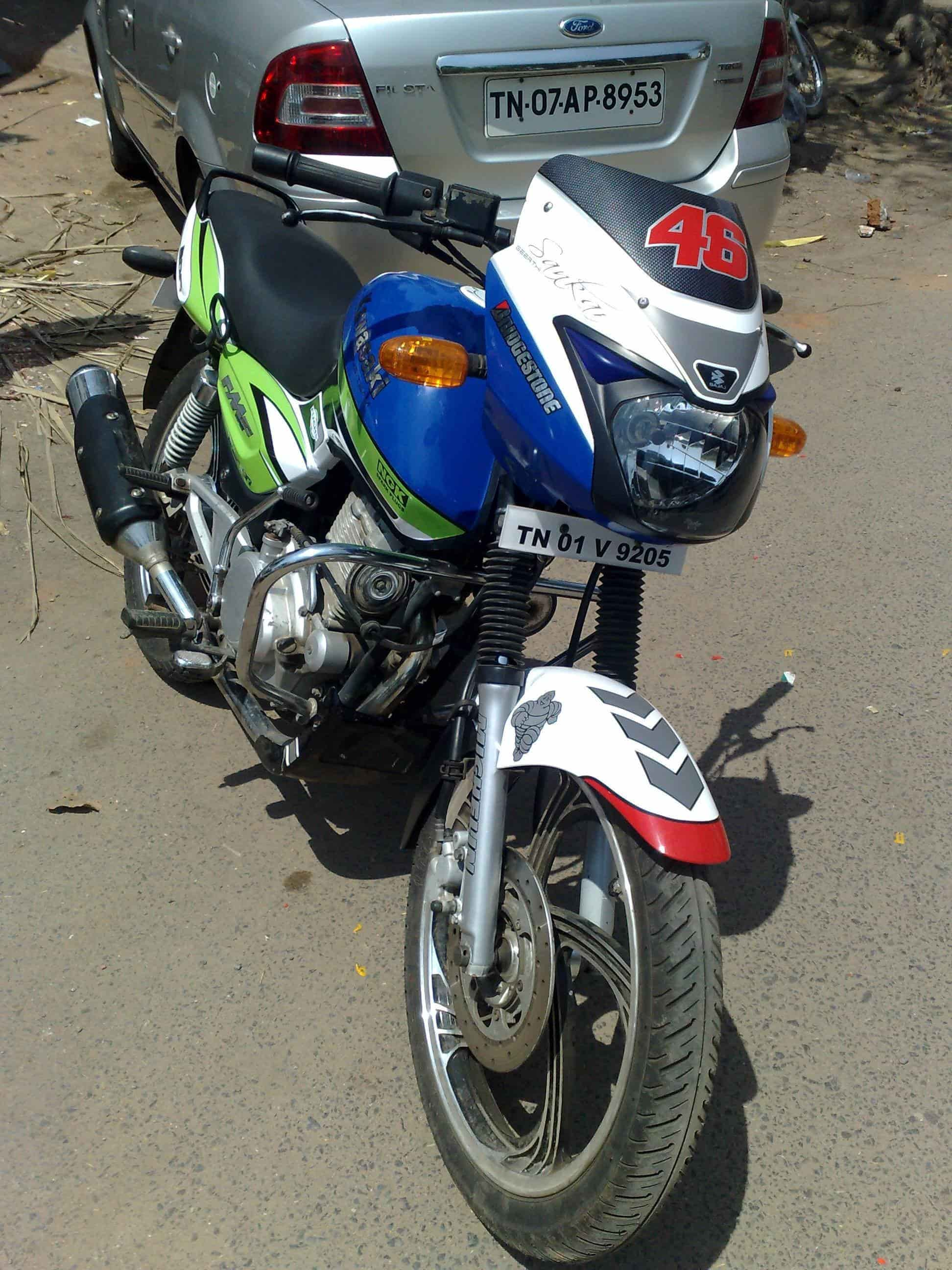 Bike stickering rathnaa stickers decal graphix photos porur chennai sticker dealers