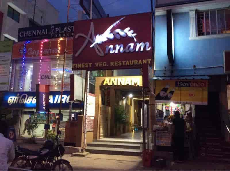 Annam Veg Restaurant Perungudi Chennai Pure Vegetarian Chinese South Indian Multicuisine North Indian Indian Tandoori Fast Food Cuisine Restaurant Justdial