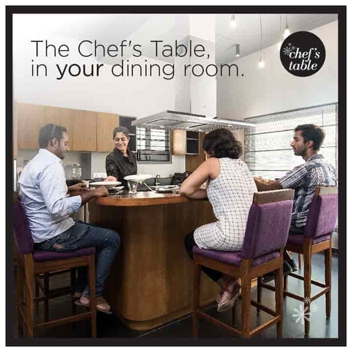 Chef's Table, Poes Garden-teynampet, Chennai - Continental