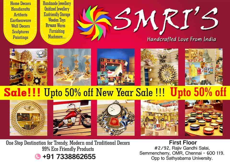 Smris Handcrafted Love From India, Sholinganallur - Gift Article