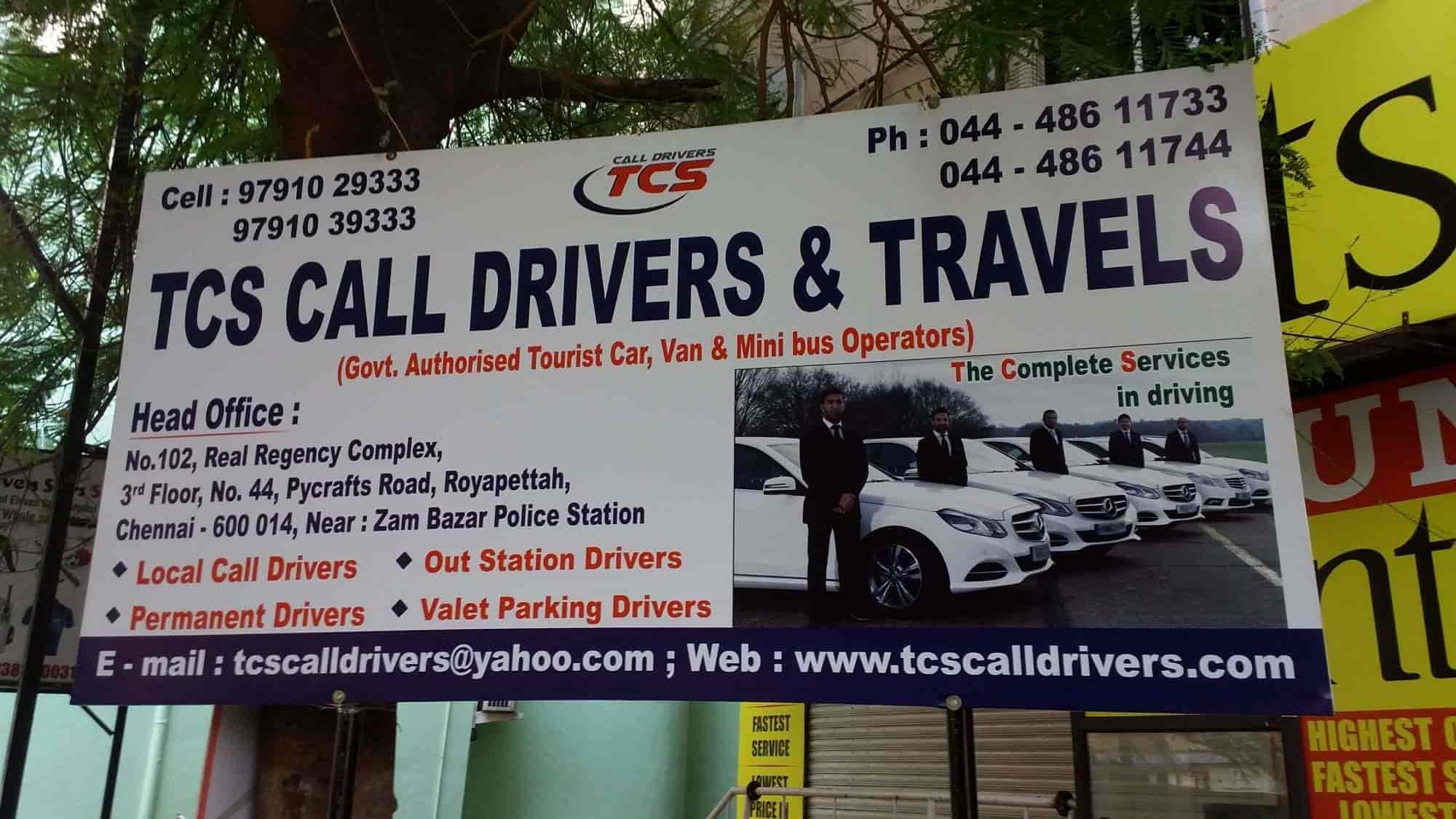 TCS Call Drivers & Travels, Royapettah - Driver Service