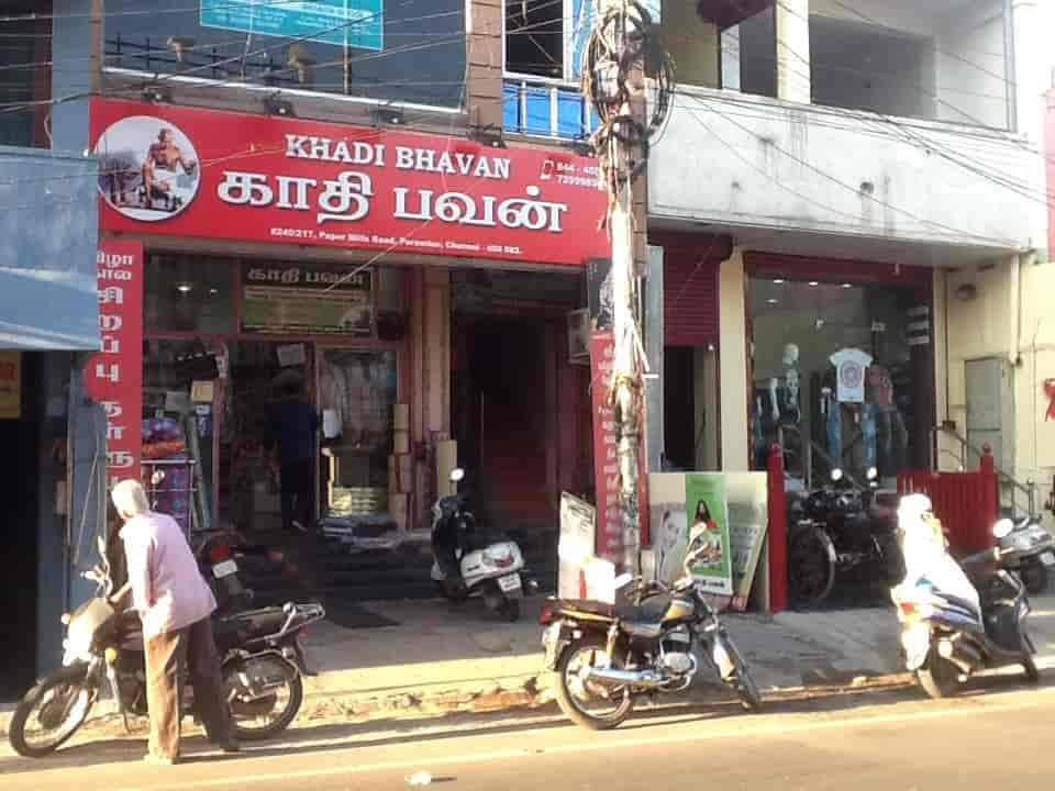 Khadi Bhavan Perambur Khadi Cap Retailers In Chennai Justdial