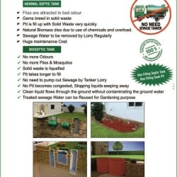 Green Bio Septic Tank Manufacturer, Vanagaram - Septic Tank