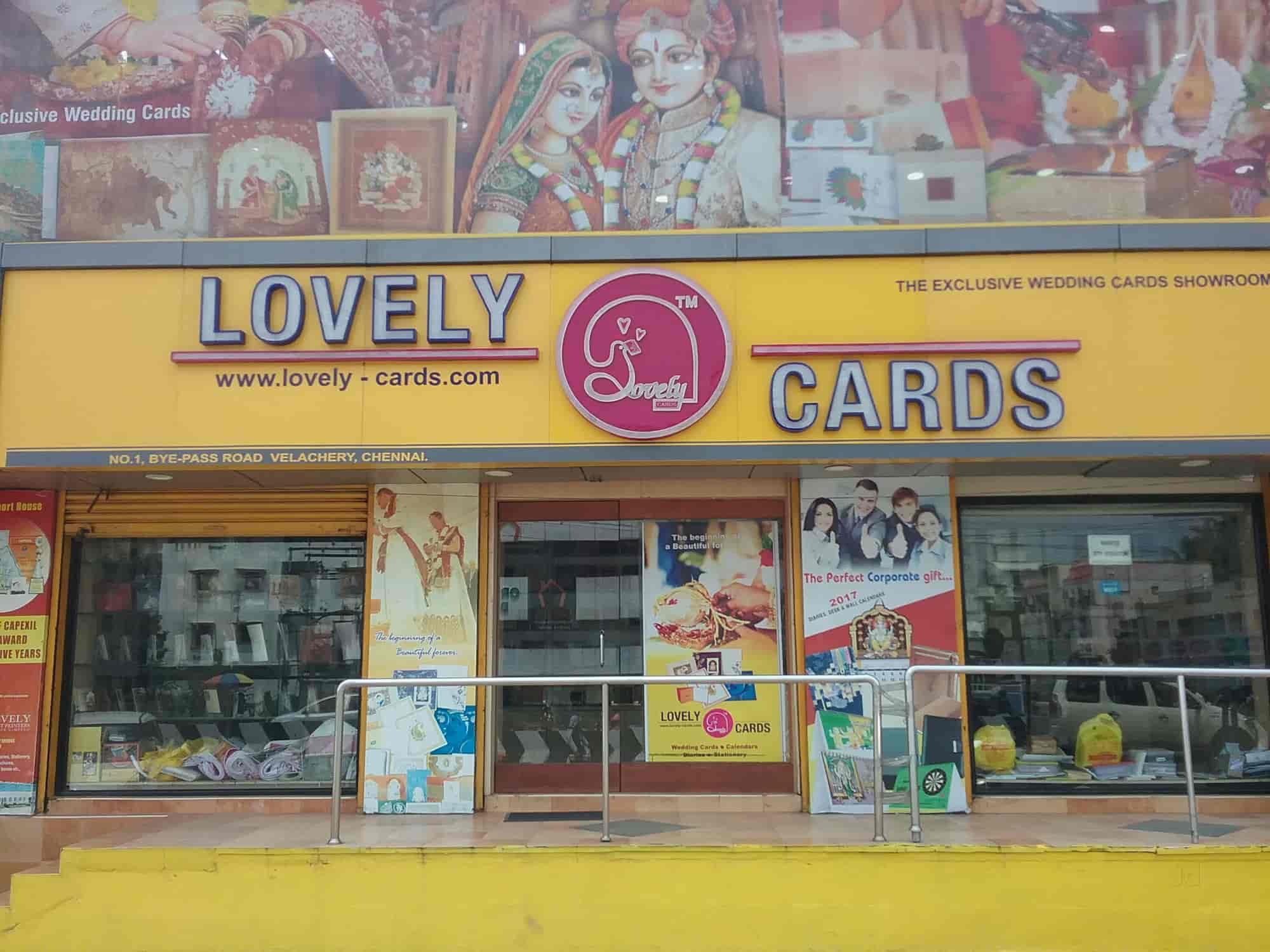 Lovely Cards Velacheri Invitation Card Printers In