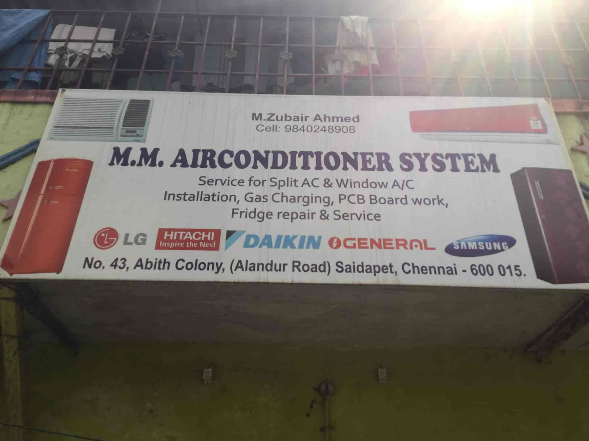 M M Air Conditioner, Saidapet - AC Repair & Services in Chennai