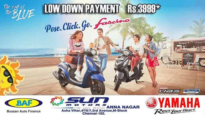Sun Motors, Anna Nagar East - Motorcycle Dealers-Yamaha in Chennai