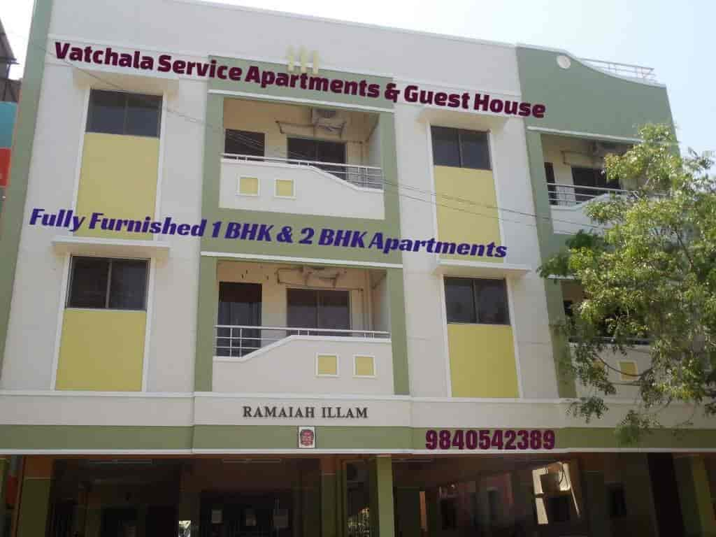 Vatchala Service Apartments U0026 Guest House, Arumbakkam   Apartment Hotels In  Chennai   Justdial