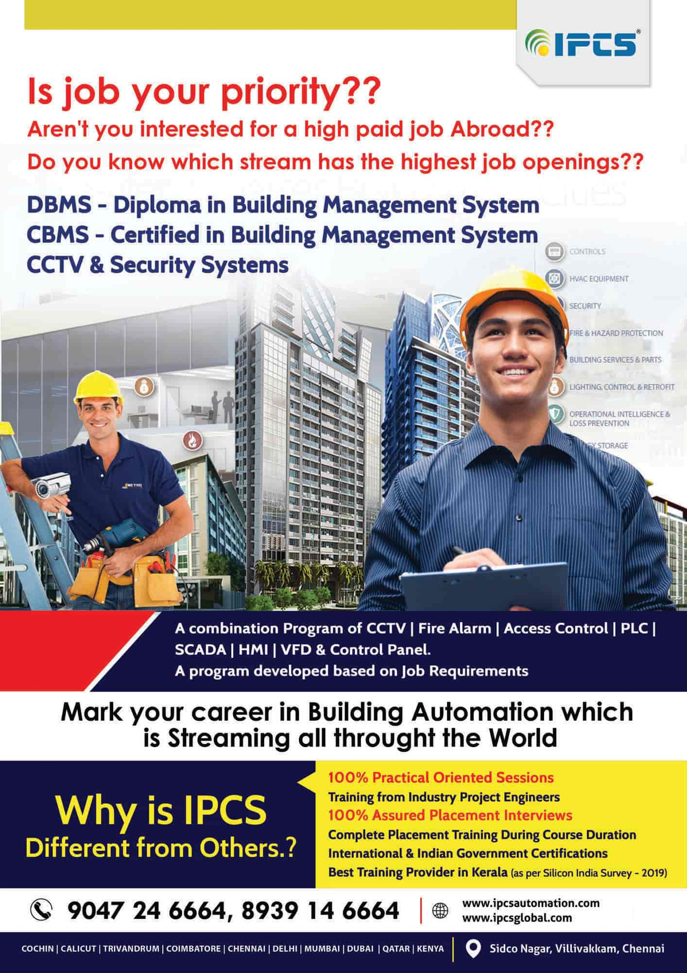 Ipcs Automation, Villivakkam - PLC Training Institutes in Chennai