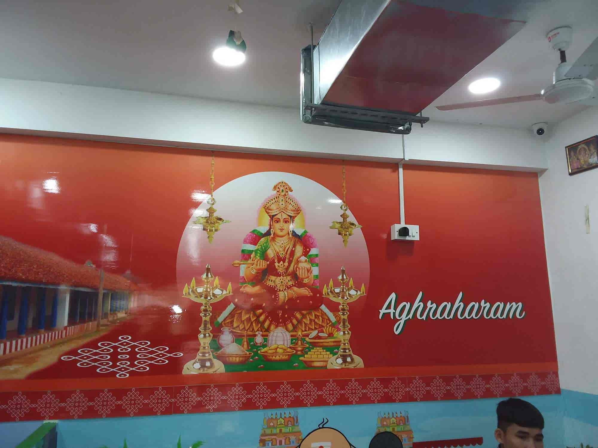 Aghraharam Thousand Lights Chennai North Indian Chinese Desserts Breakfast South Indian Pure Vegetarian Cuisine Restaurant Justdial