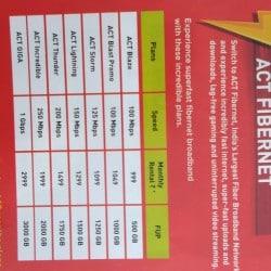 ACT Fibernet, Madipakkam - Broadband Internet Service