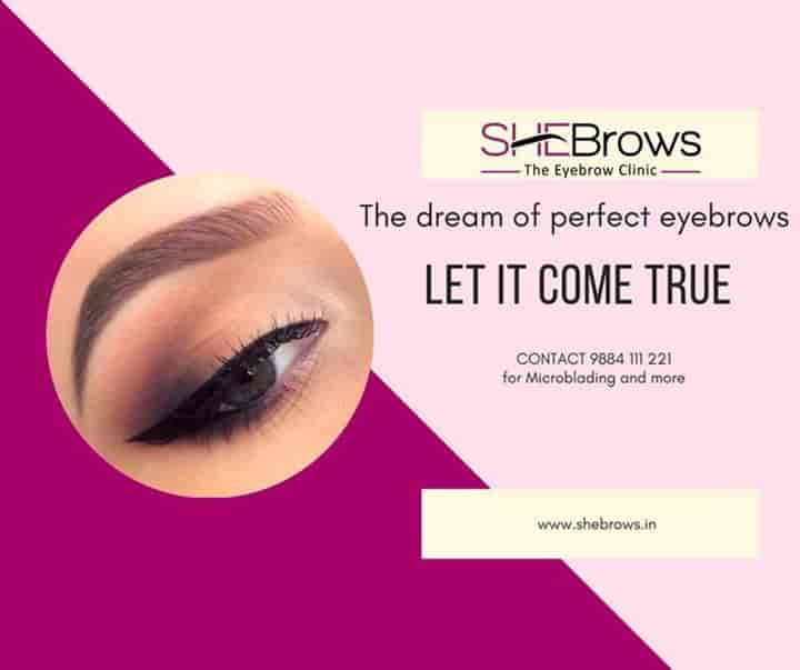SHEBrows - Eyebrow Clinic For Microblading & More - Clinics
