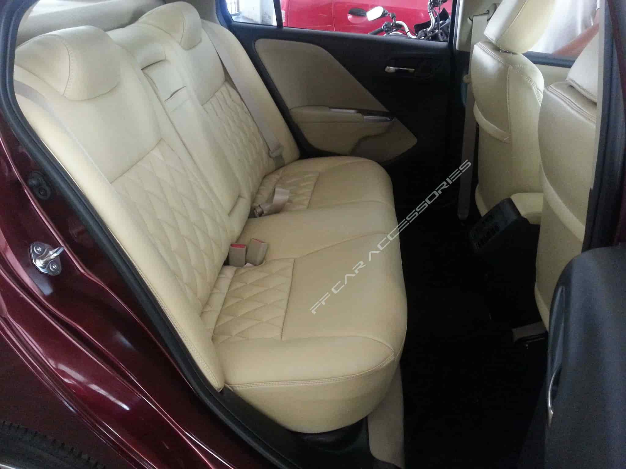 ... Honda City Custom Fit Seat Cover   F F Car Accessories Photos, Mount  Road, Chennai ...