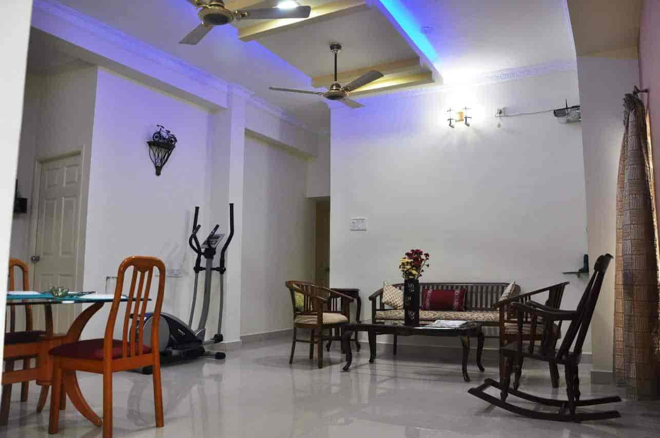 Living Hall Bhuvi Service Apartments Photos Velacheri Chennai Hotels