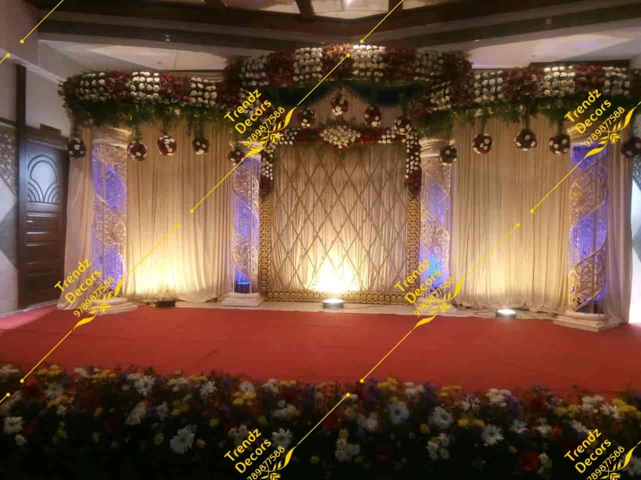 Trendz Decors, Ashok Nagar - Mandap Decorators in Chennai - Justdial