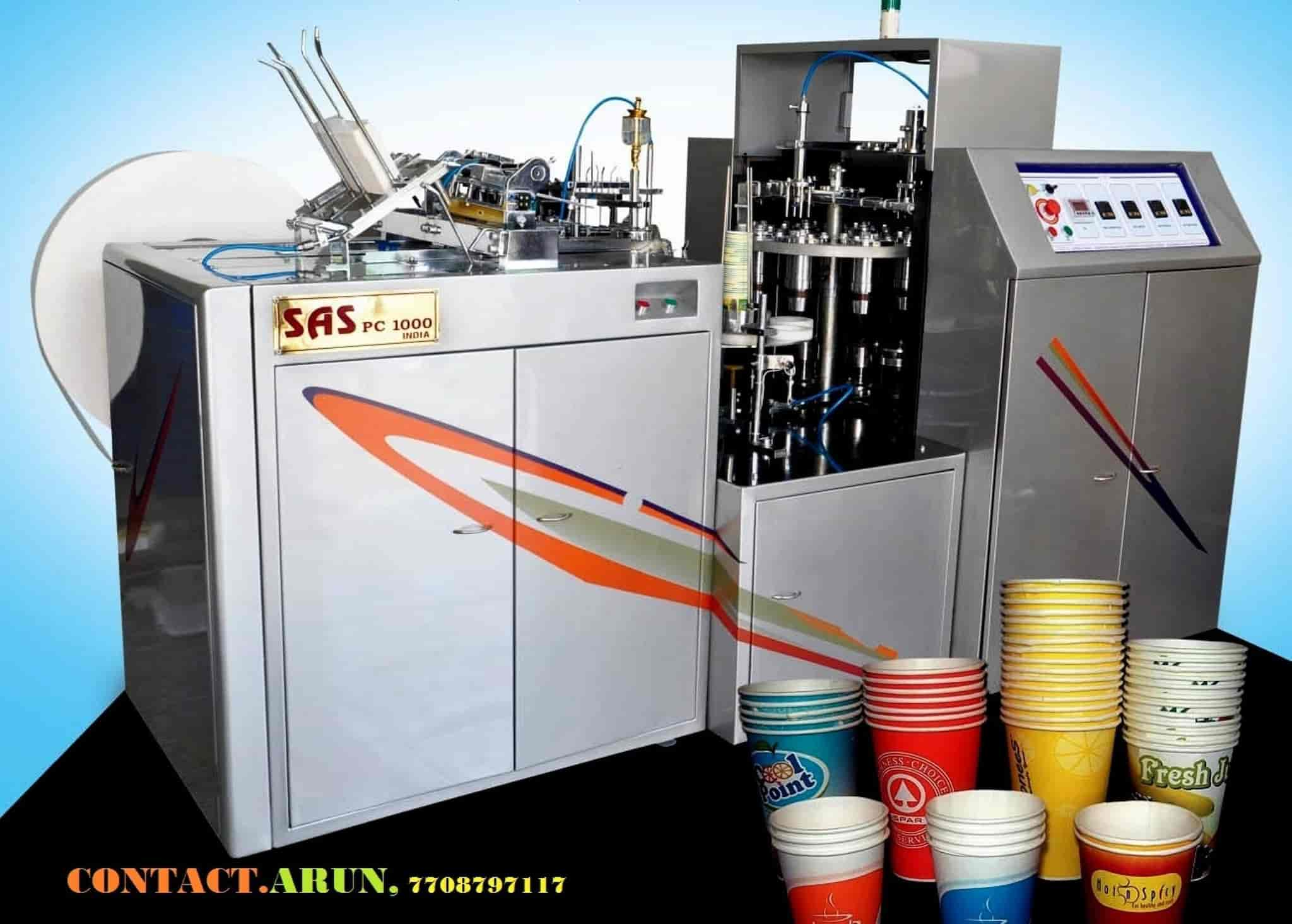 SAS Engineering, Chennai Ho - Paper Plate Making Machine