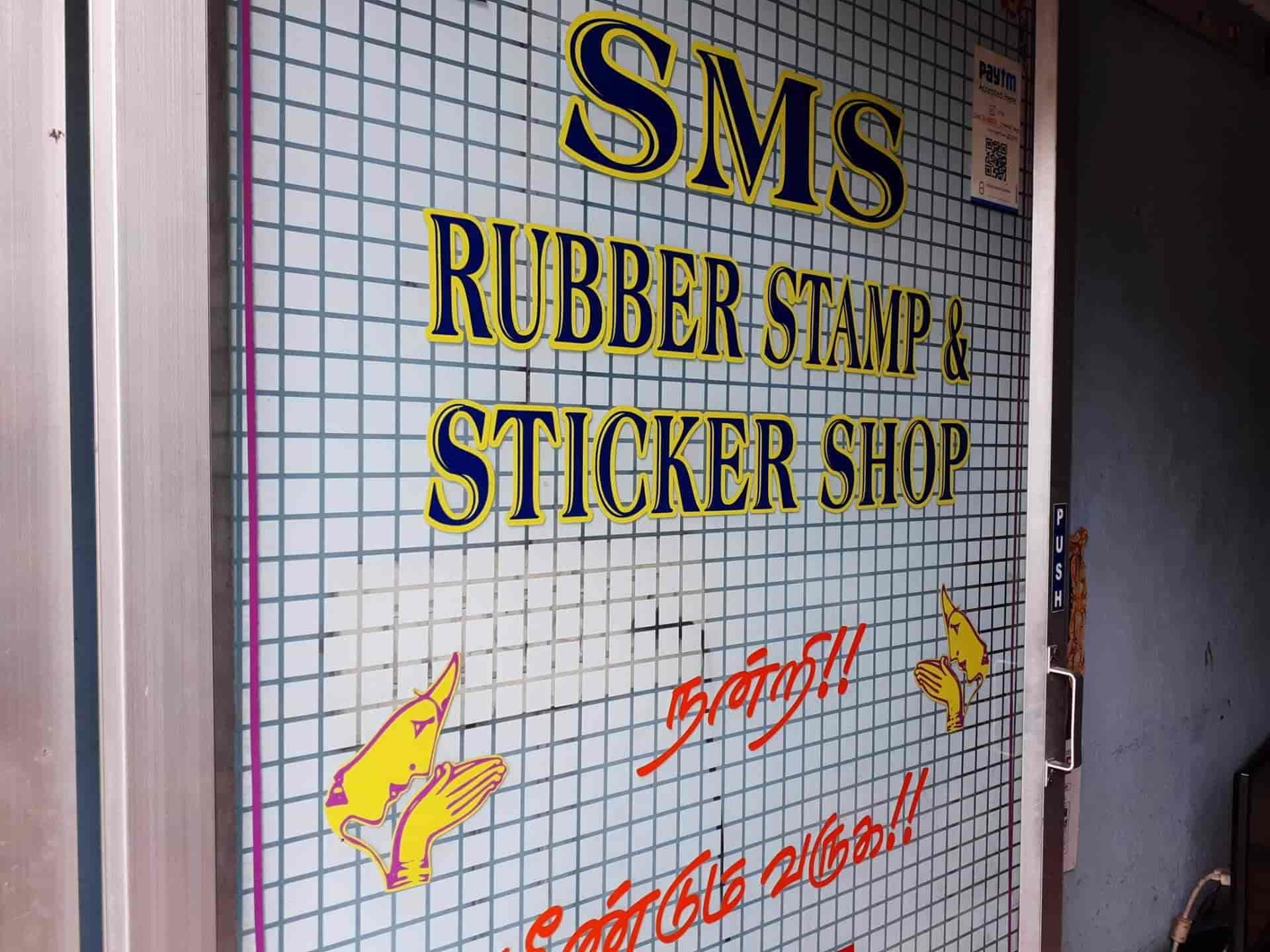 SMS Rubber Stamp & Sign, Valasaravakkam - Rubber Stamp Manufacturers