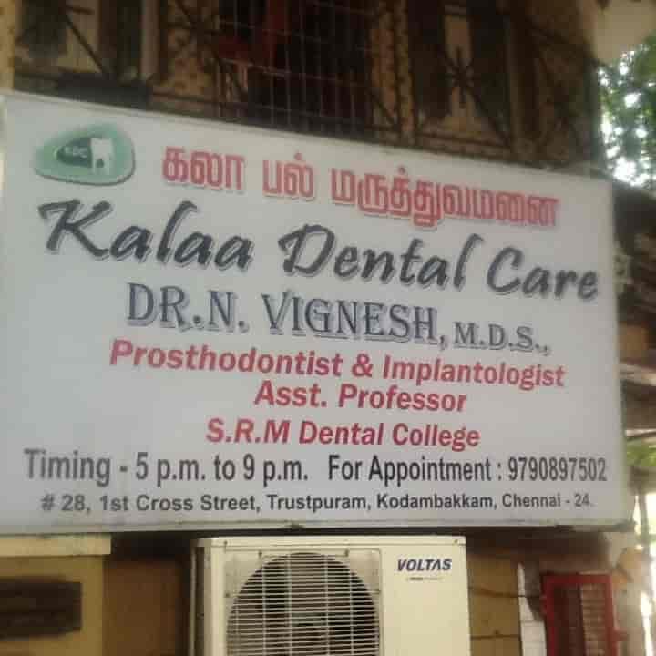 Dr  Vignesh n (kalaa Dental Care) - Dentists - Book