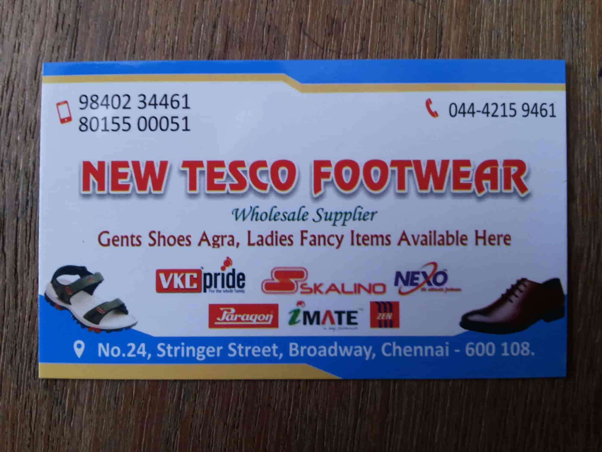 New Tesco Footwear Photos, Broadway, Chennai- Pictures & Images ...