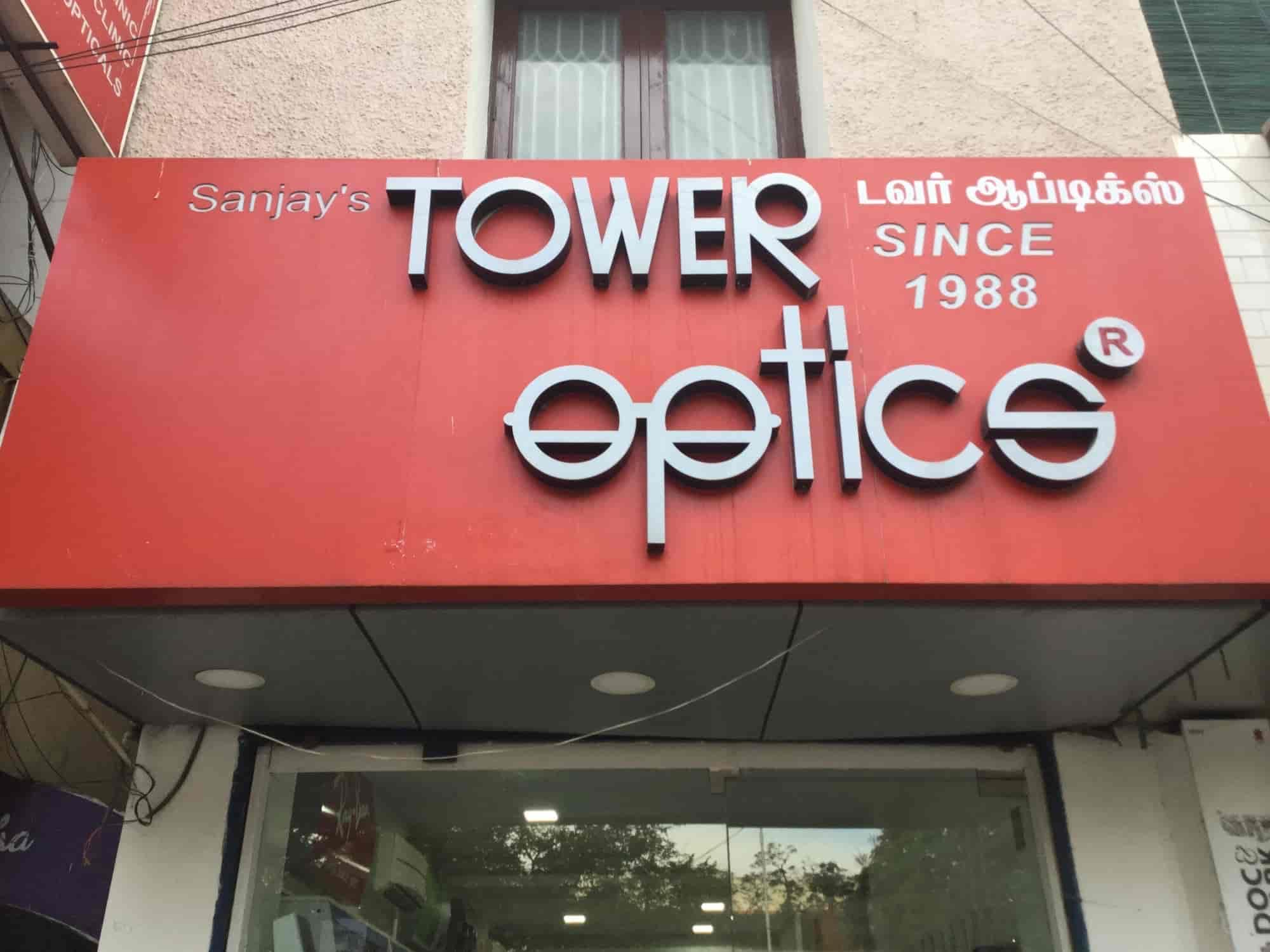Tower Optics, Anna Nagar - Opticians in Chennai - Justdial