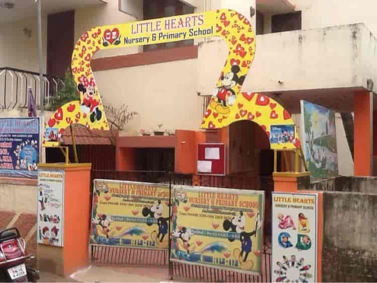 Front View Little Hearts Nursery Primary School Photos Ambattur Chennai Schools