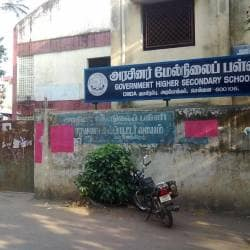 mmda main office map Government Higher Secondary School Arumbakkam Schools In mmda main office map