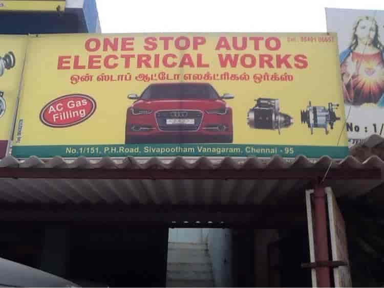 One Stop Auto Electrical Ac Works Photos, Maduravoyal, Chennai