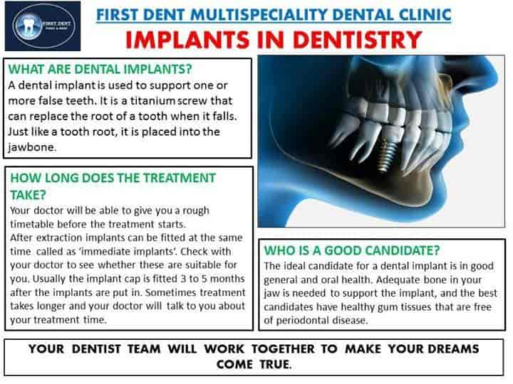 First Dent Multispeciality Dental Clinic - Dentists - Book