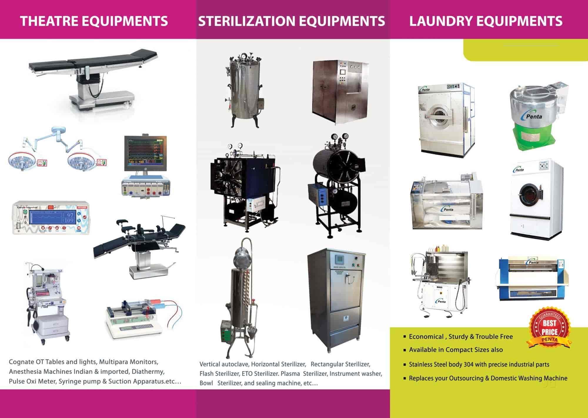 Penta Medilab Technologies, Kodambakkam - Medical Equipment