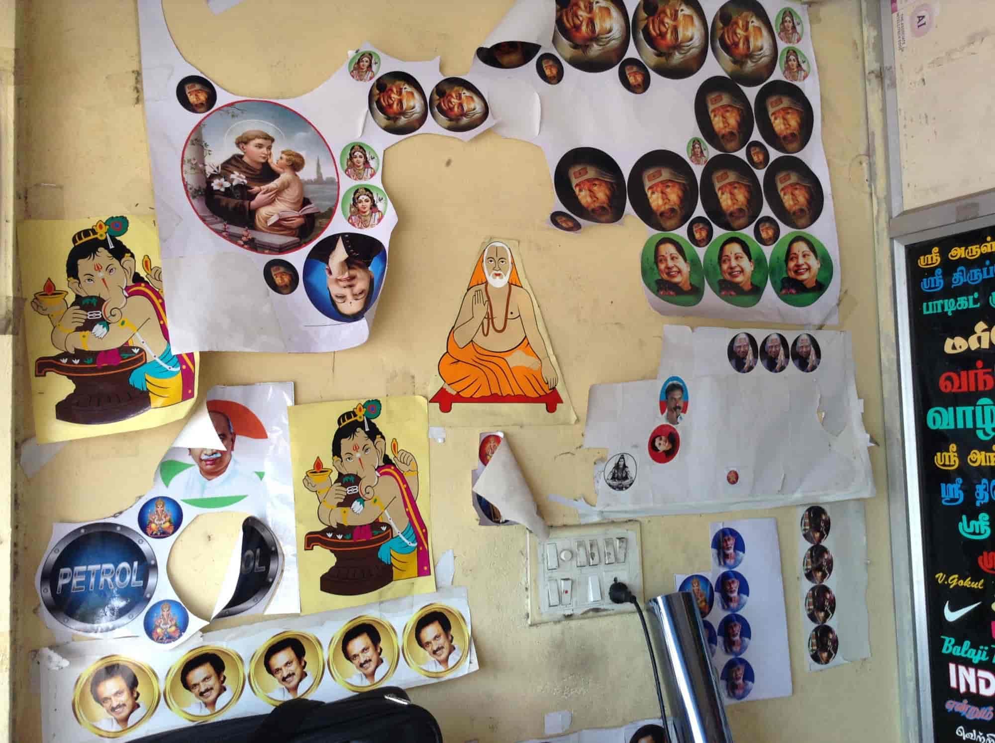 Radium stickers gk sticker shop photos vadapalani chennai sticker dealers