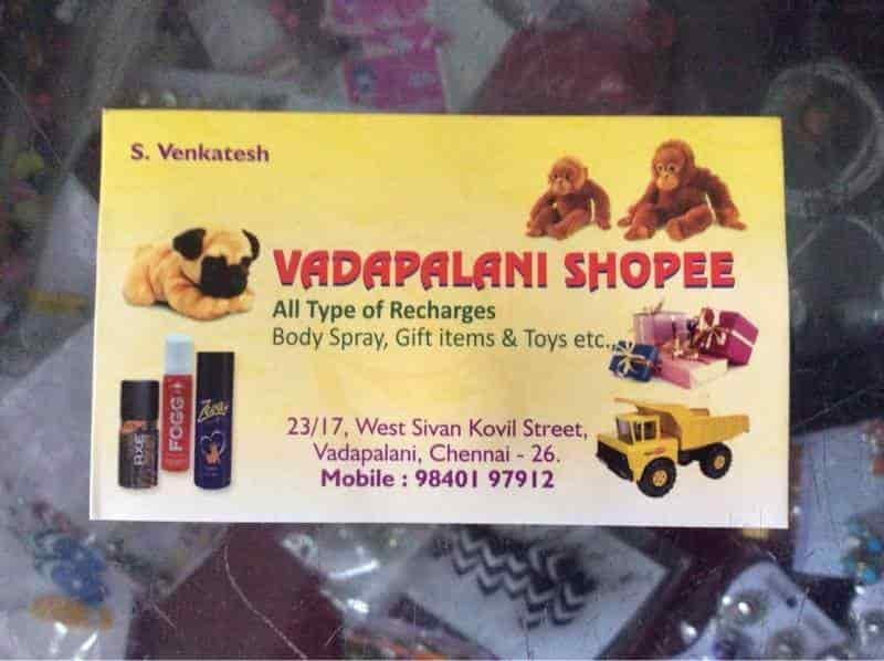 Vadapalani Shopee, Vadapalani - Fancy Item Dealers in Chennai - Justdial
