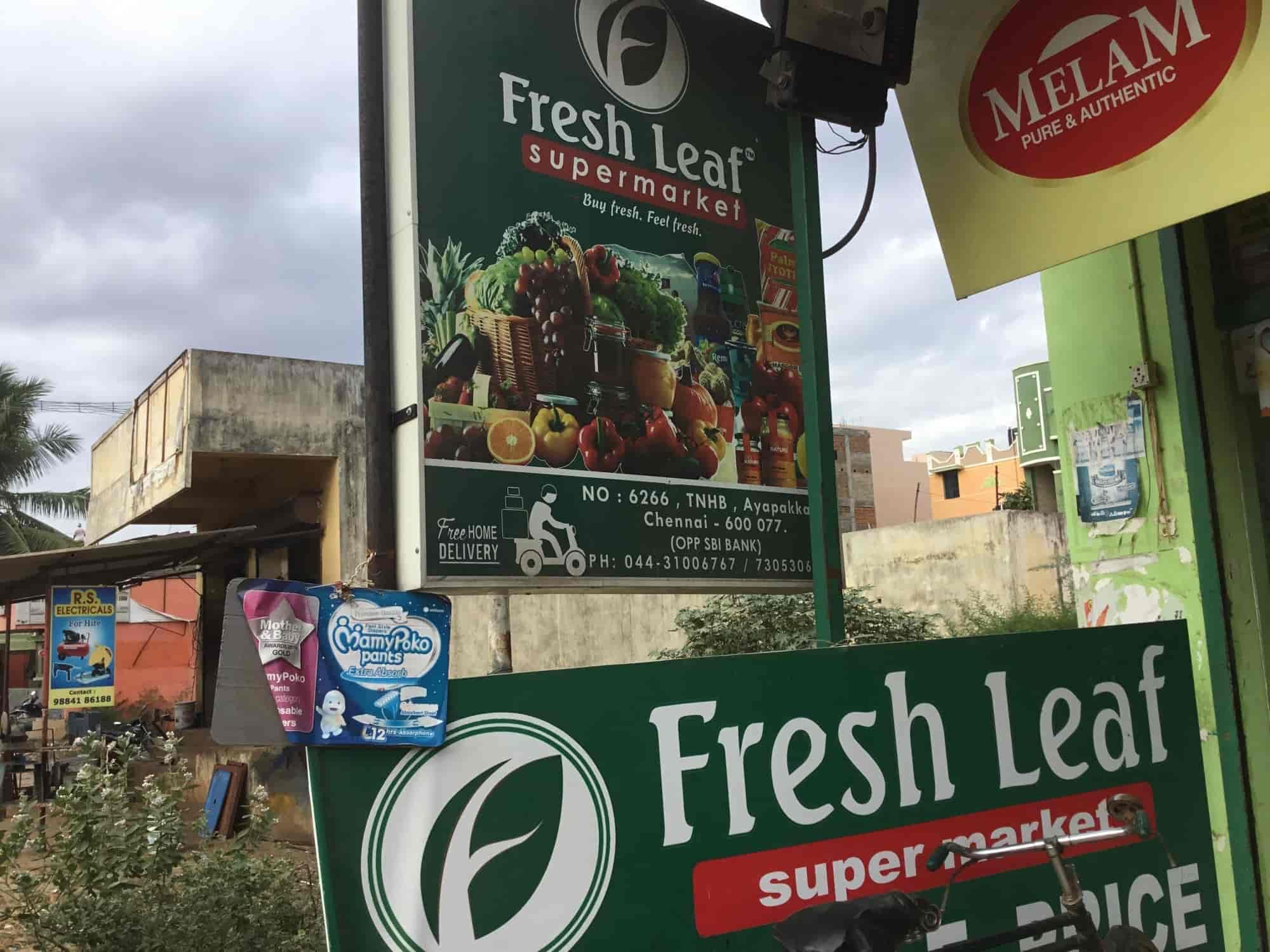 Fresh Leaf Supermarket Photos, Ayapakkam, Chennai- Pictures & Images