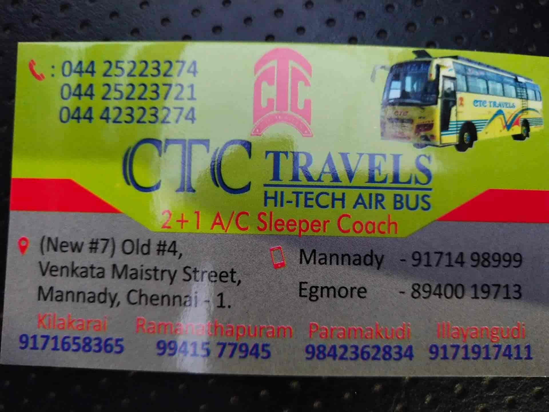 Top Five 578 Bus Route Chennai - Circus