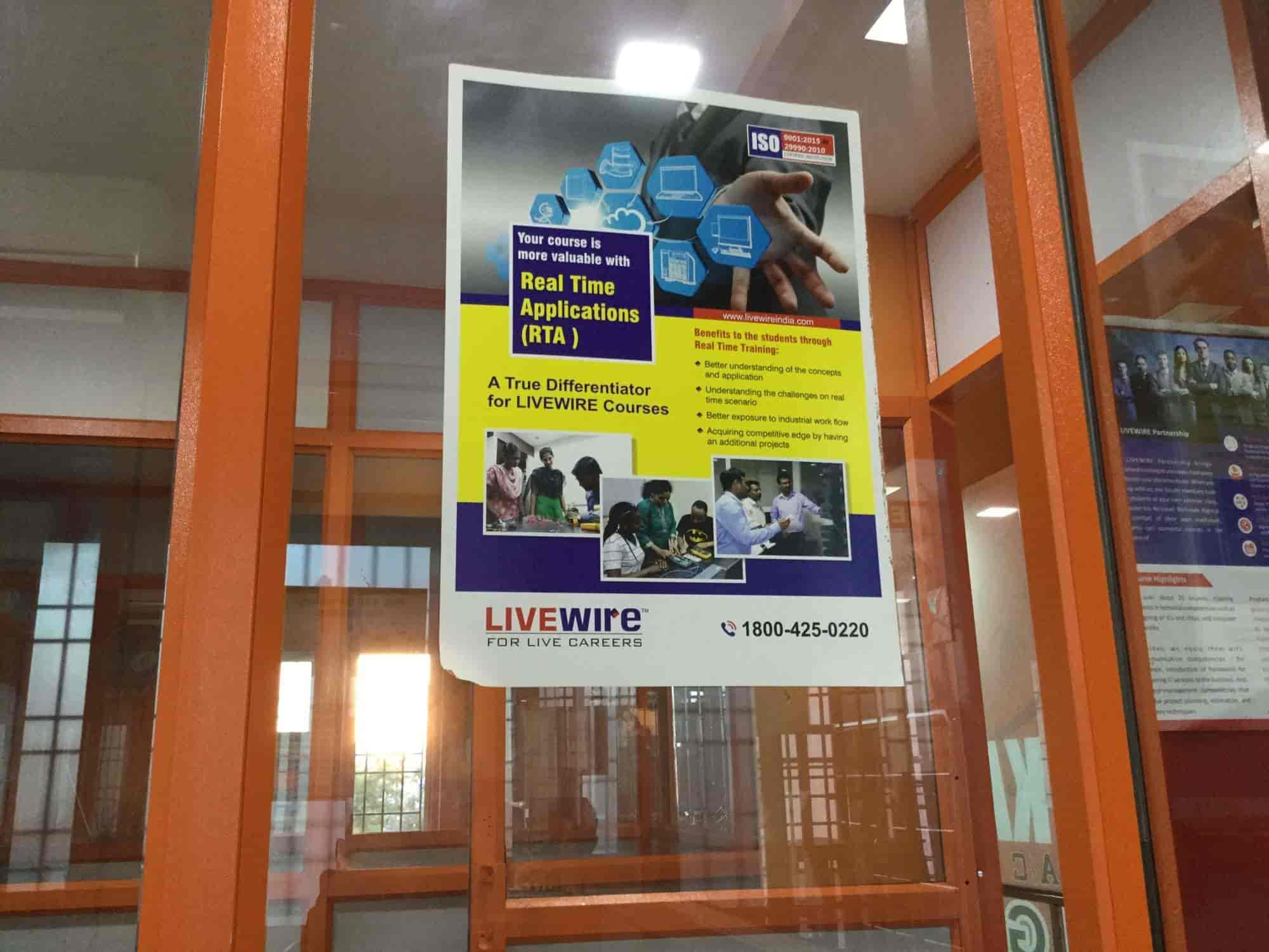 ... Entrance View   Live Wire For Live Careers Photos, Selaiyur, Chennai    Computer Training  Live Careers