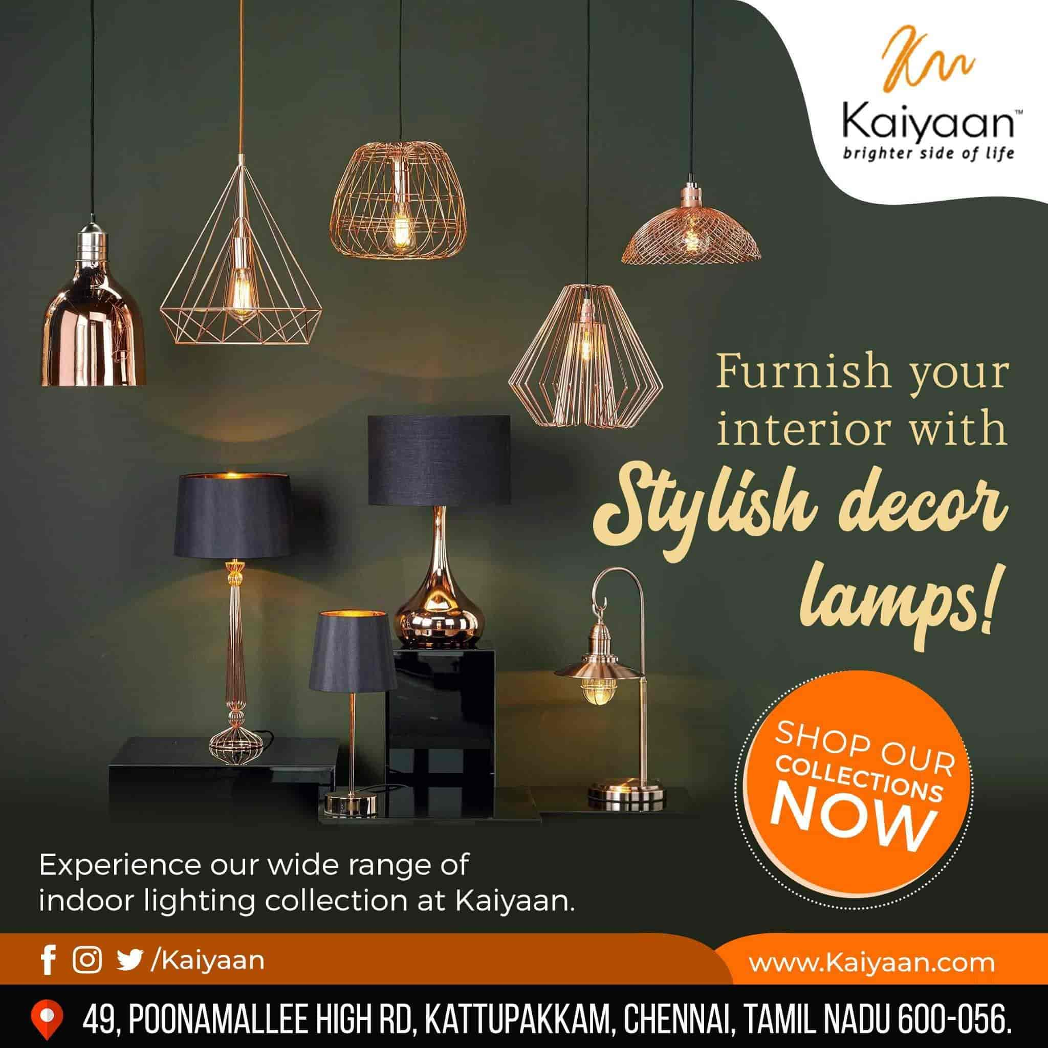Kaiyaan Lighting Kattupakkam Led Light Dealers In Chennai Justdial