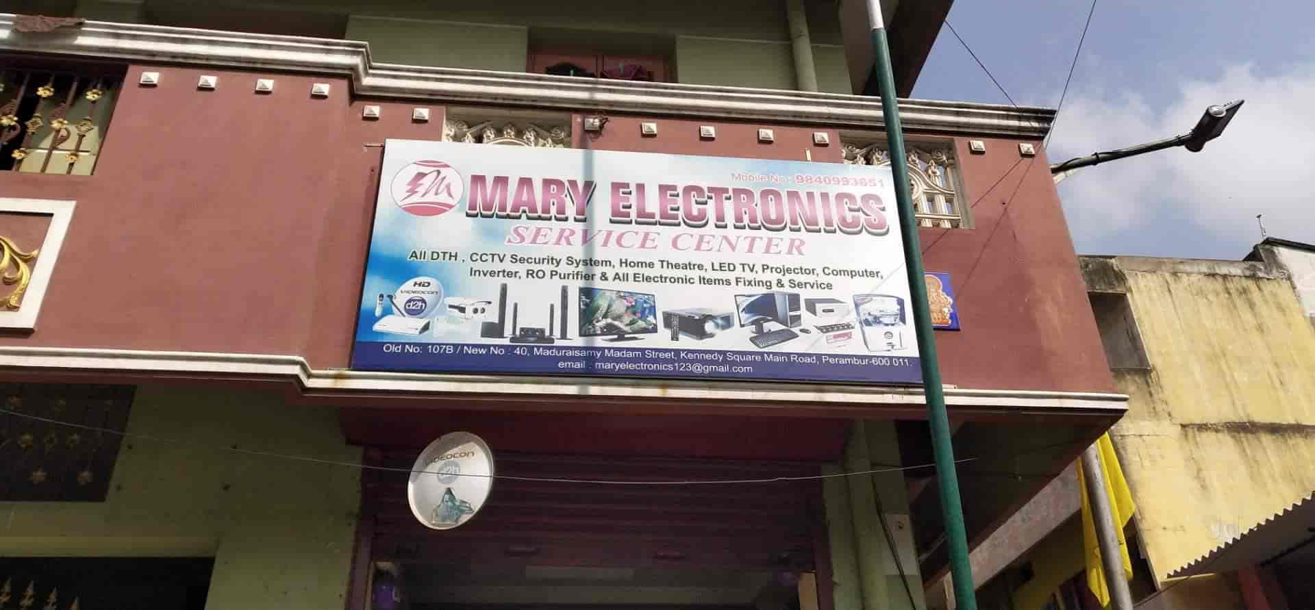 Mary Electronic Service Center, Perambur - CCTV Installation