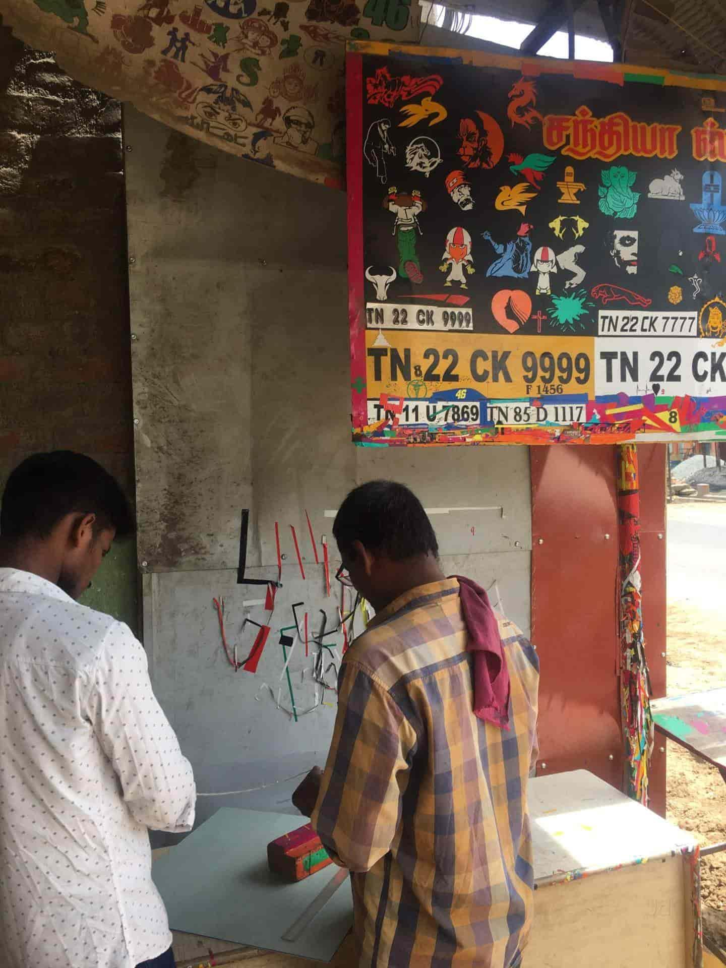Sandhiya Stickers, Kundrathur - Sticker Dealers in Chennai