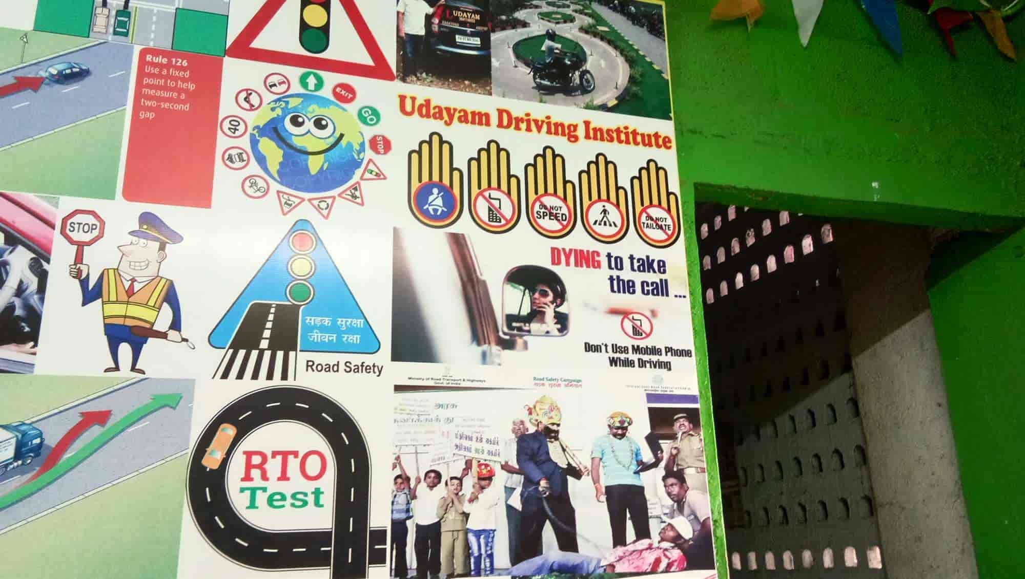 Udayam Driving School, Velacheri - Motor Training Schools in Chennai