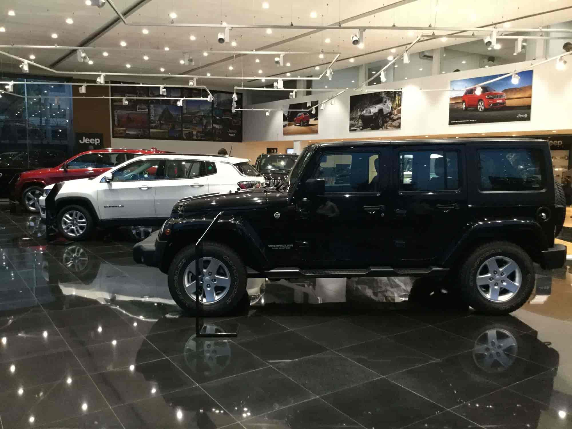 Rdc Royale Jeep Store At Omr Perungudi Jeep Dealers In Chennai